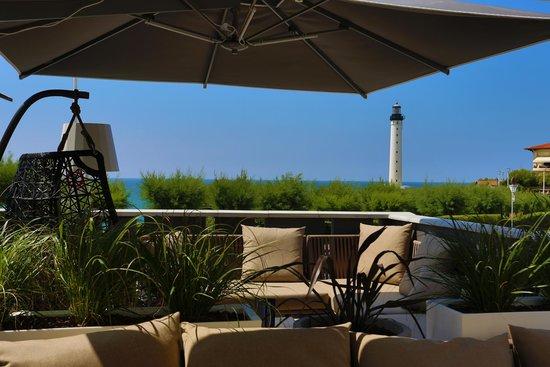 Le Regina Biarritz Hôtel & Spa - MGallery Collection : Terrasse du Restaurant N°1 by Georges