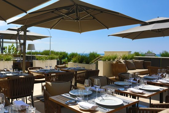 Le Regina Biarritz Hôtel & Spa - MGallery Collection : Terrasse du Restaurant N°1 by Georges
