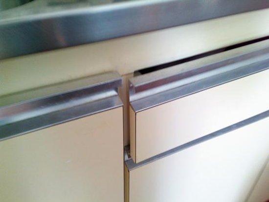 Paraiso del Sol Apartments: Dreckige Küche