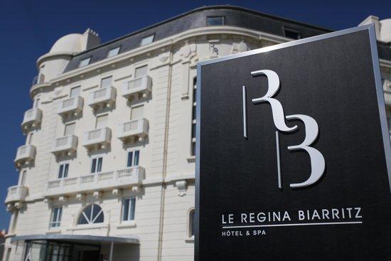 Le Regina Biarritz Hôtel & Spa - MGallery Collection : Façade de l'hôtel