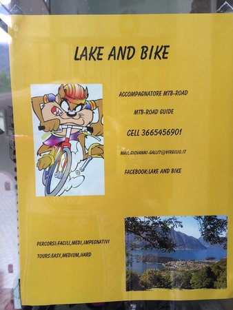 Hotel Argegno: nearby bike shop
