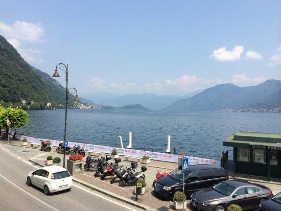 Hotel Argegno: view towards Bellagio