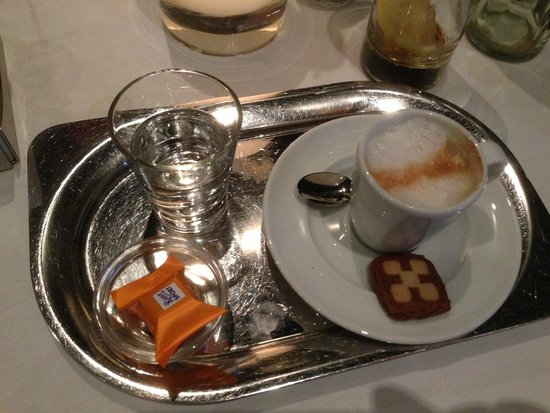 Restaurant Gildehaus: Espresso Macchiato