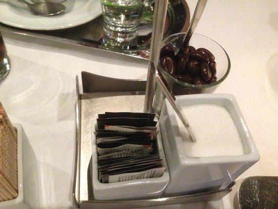 Restaurant Gildehaus: Zuckersortiment