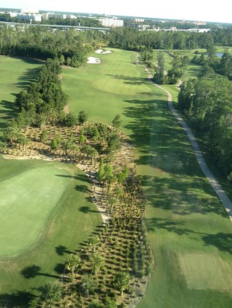 Waldorf Astoria Orlando : Room With a view, 1st Hole Championship Course