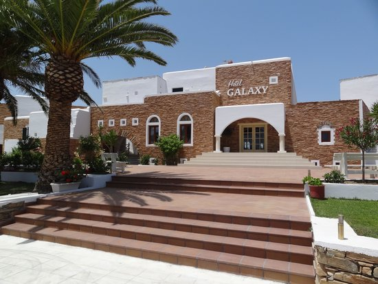 Galaxy Hotel : Front view of Hotel