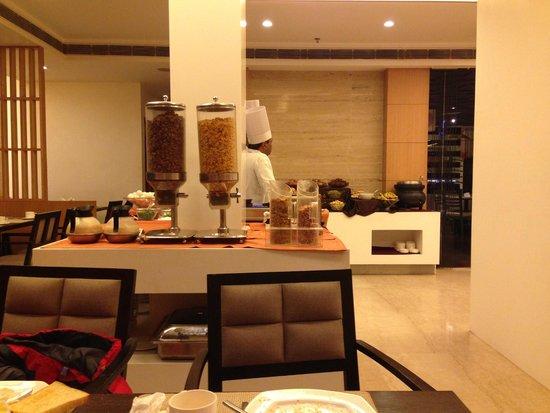 Howard Plaza The Fern Agra : Hotel breackfast