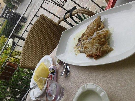 PUNTA DA DINO: tinca con polenta e patate