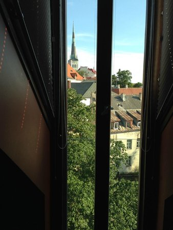 Hotel Telegraaf: The view from the window.