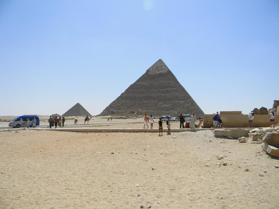 Pyramide de Khéops : trop belle