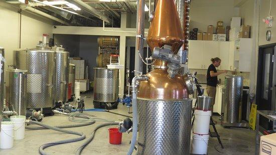 The Liberty Distillery : the still