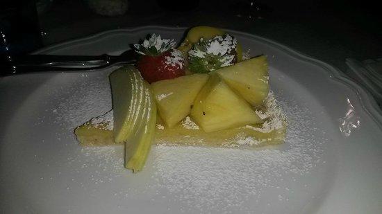 Osteria Pazza Idea: Dolce con frutta fresca