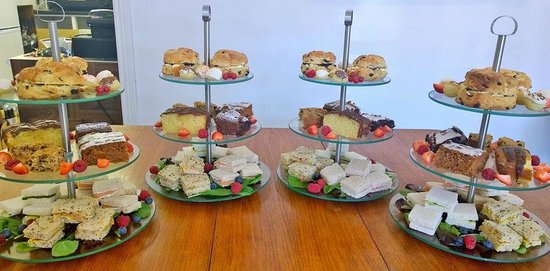 Just Vintage Tea Room Cafe: Corporate Catering