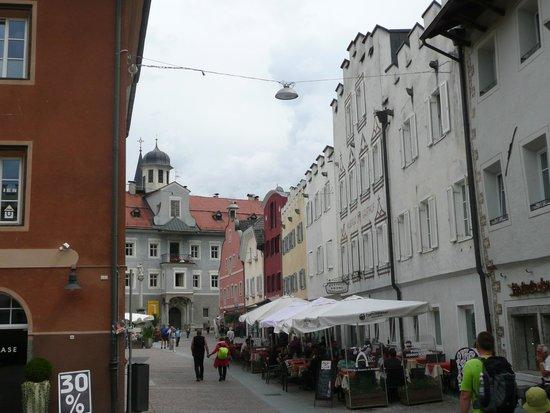 Pizzeria Arc - Bistro Hotel Krone: Restaurant-Terrasse mitten in der Altstadt