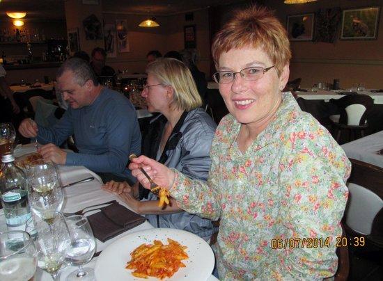 Hotel Margherita: Suppertime