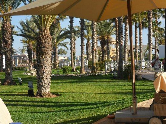 Hotel Palace Hammamet Marhaba : le jardin
