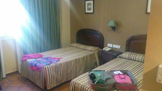 Hotel Los Bronces: Camas
