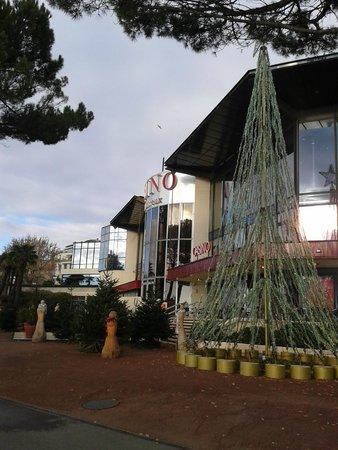 Mercato di Natale di Montreux (Montreux Noel) : Palazzi e alberghi