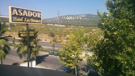 Hotel Los Bronces: Desde la ventana