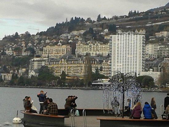 Mercato di Natale di Montreux (Montreux Noel) : Panorama