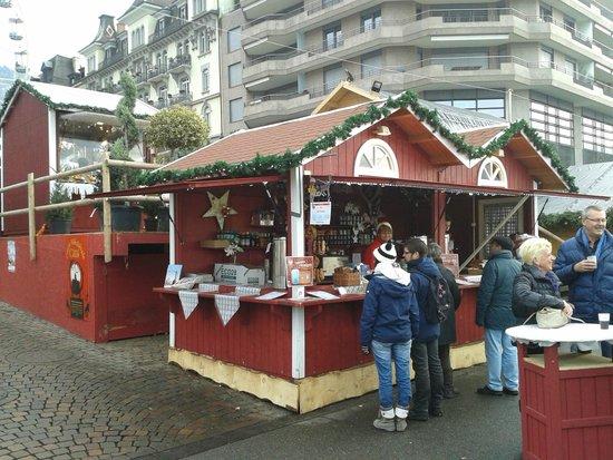 Mercato di Natale di Montreux (Montreux Noel) : Stand