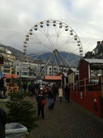 Mercato di Natale di Montreux (Montreux Noel) : Ruota panoramica
