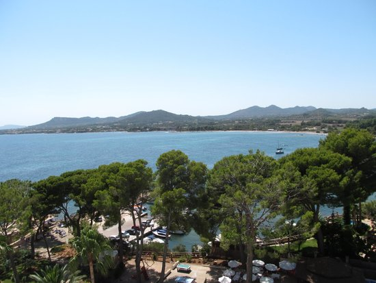 Hipotels Eurotel Punta Rotja: view of the bay