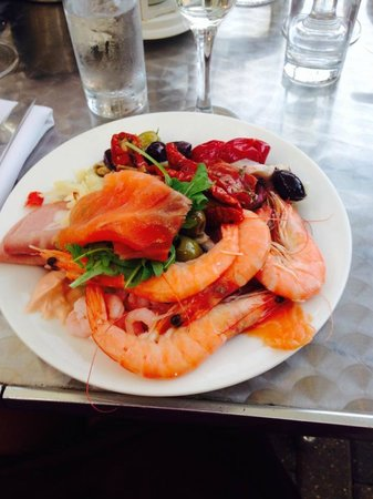 Aztec Hotel & Spa Bristol: dinner from the restaurant buffet