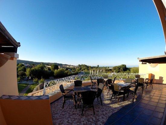 Hotel I Corbezzoli: Vista dalle camere vista mare