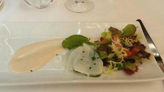 Cal Ton: Ensalada de bacalao y espinacas