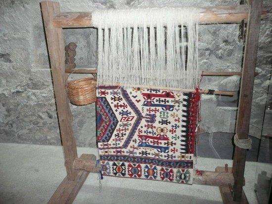 Messner Mountain Museum Ripa Brunico: Webstuhl