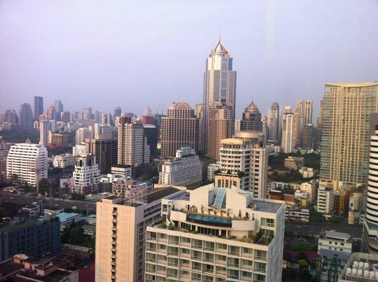 Landmark Bangkok : View from the 27:th floor