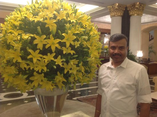 The Oberoi Grand: At the lobby