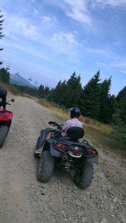 Grand Hotel & Spa: Going with motors around the mountain