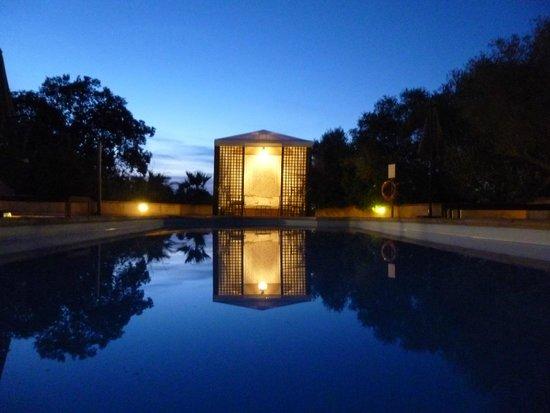 Finca Son Jorbo: Pool at dusk