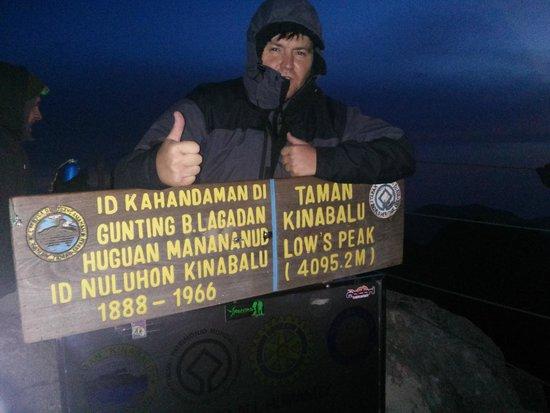 Mount Kinabalu: На вершине