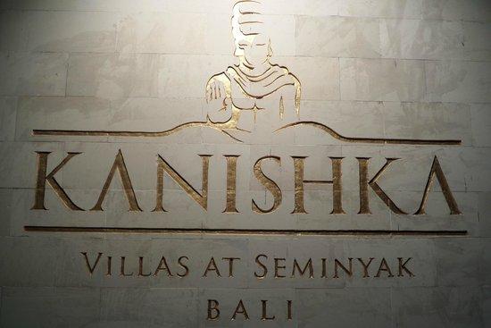 Kanishka Villas : Front sign