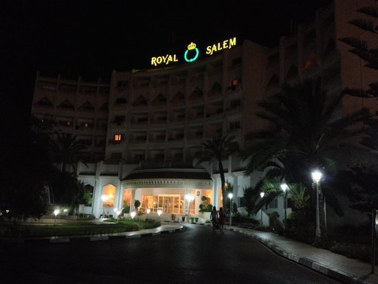 Marhaba Royal Salem at night