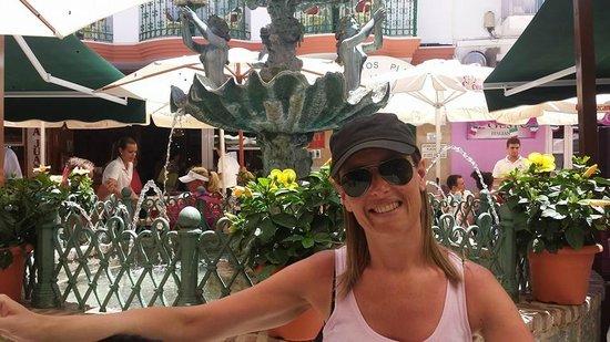 Casa Juan Los Mellizos: La terrasse