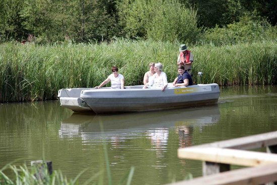 WWT Arundel Wetland Centre: Boat trips with great guides
