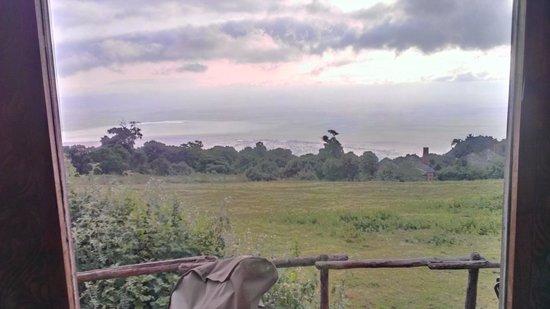 andBeyond Ngorongoro Crater Lodge: uitzicht