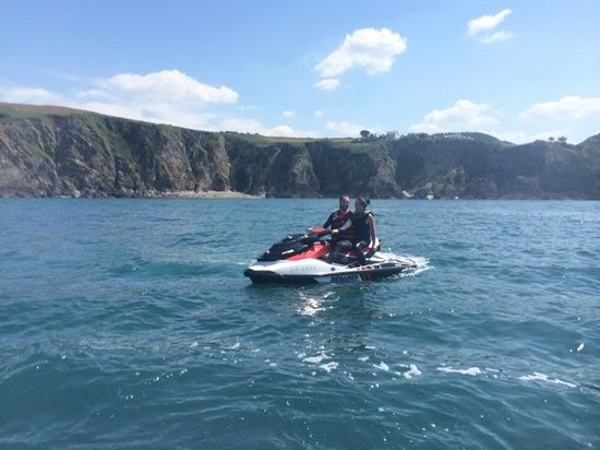 Watermouth Cove Holiday Park: Jet-ski safari