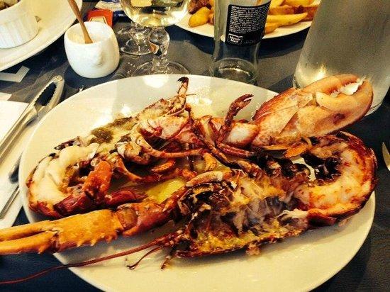 Le Clocher : Le homard