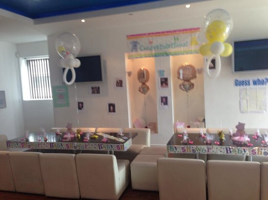Pacifica Cantonese : let us decorate and bring in goodies, very flexible and supportive staff