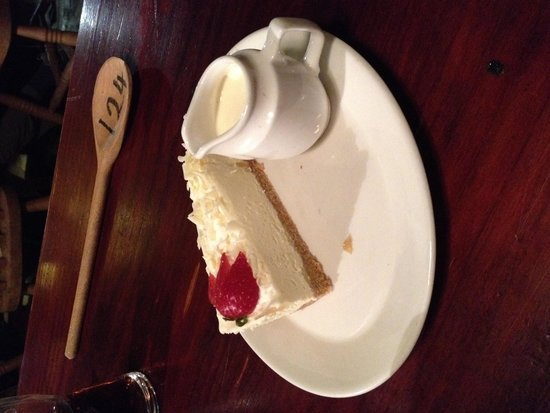 George III Hotel: Lemon cheesecake