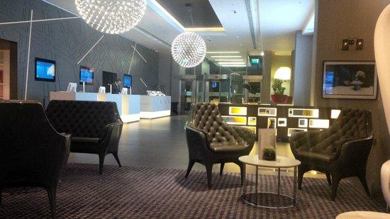 Pullman London St Pancras Hotel : Réception de l'hotel