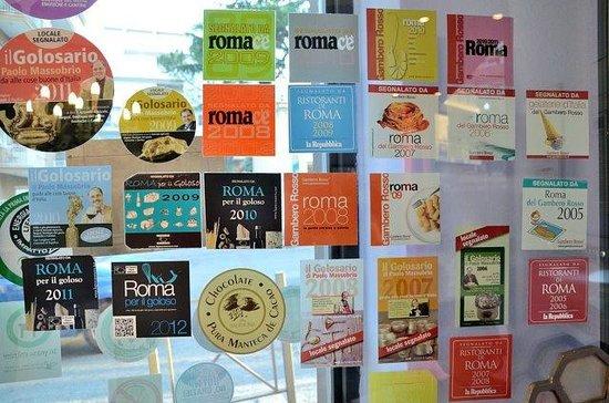 Cremeria Aurelia : premiati dalle migliori riviste gastronomiche