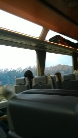 Arthur's Pass Hiking & Tranz Alpine One Day Tour: VIEW FROM TRAIN