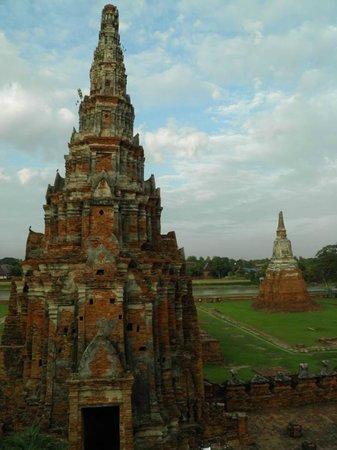 Wat Chaiwatthanaram : Torres de Chaiwattanarm