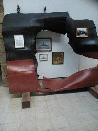 Museo Naval: Torpedotreffer